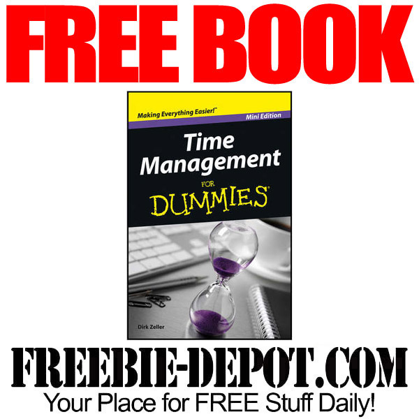 FREE BOOK – Time Management For Dummies – Exp 11/3/16