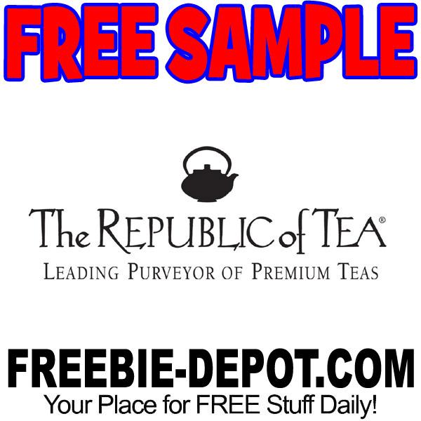 FREE SAMPLE – Republic of Tea   Freebie Depot