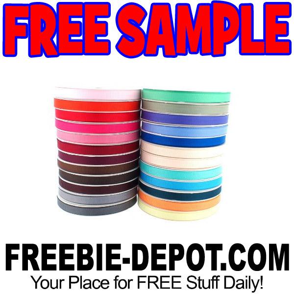 FREE SAMPLE – Print My Ribbon – FREE Fabric Ribbon Samples