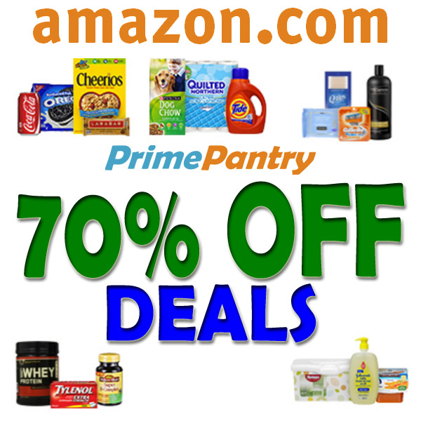 70% OFF Amazon Pantry & Grocery Items!!!!