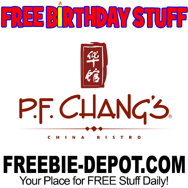 BIRTHDAY FREEBIE – P.F. Chang's China Bistro