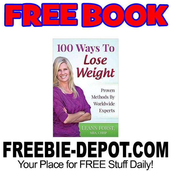 FREE BOOK – 100 Ways to Lose Weight