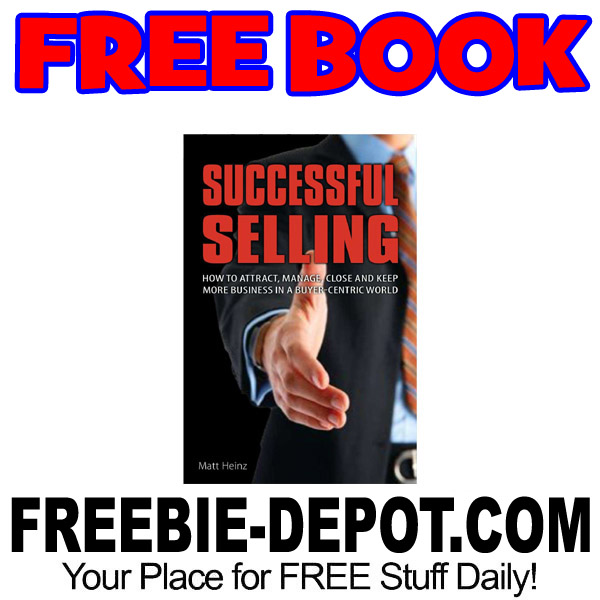 FREE BOOK – Successful Selling