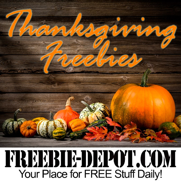 Thanksgiving Freebies 2016
