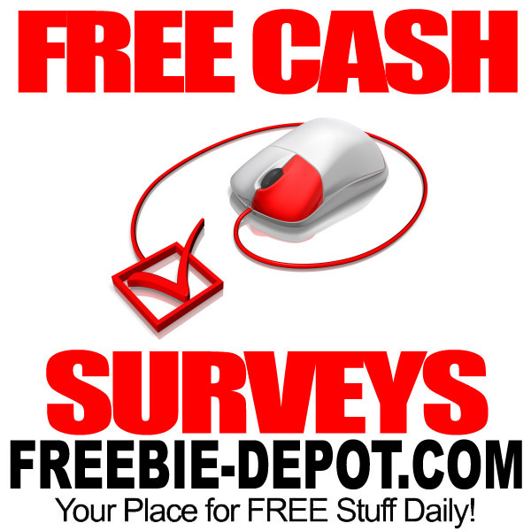 FREE Cash for Surveys – Earn FREE Money from Home