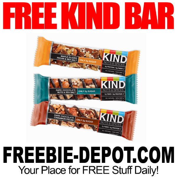 FREE SAMPLE – Kind Snacks Bars #kindawesome   Freebie Depot