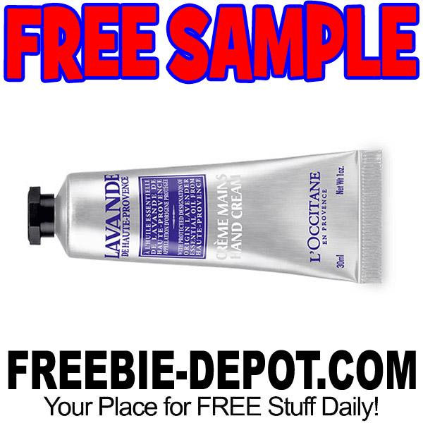 FREE SAMPLE – L'Occitane Lavender Hand Cream