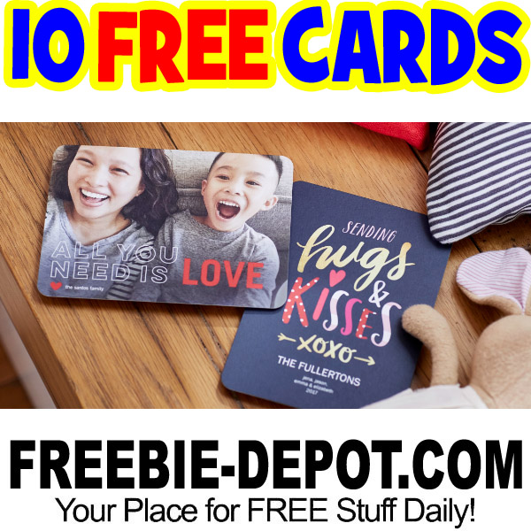 10 FREE Personalized Photo Greeting Cards – Exp 2/1/17