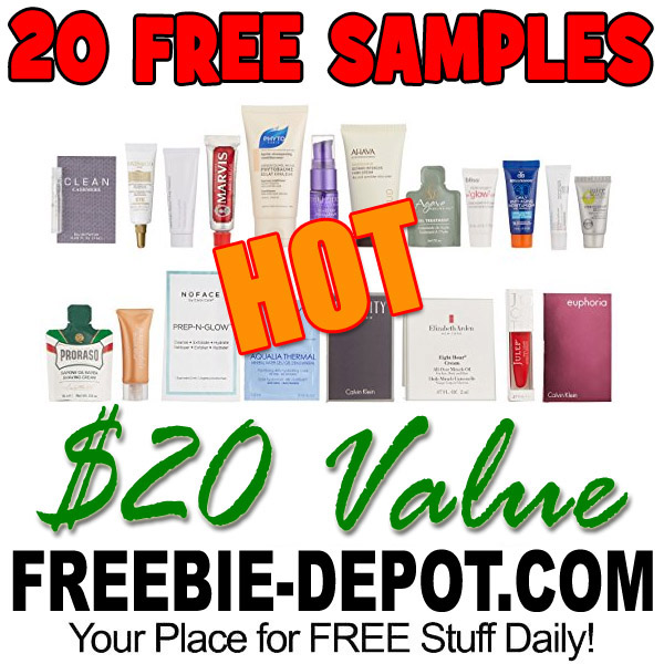 20 FREE Luxury Beauty Samples – FREE Sample Box from Amazon – $20 Value