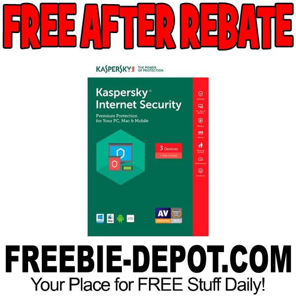 FREE AFTER REBATE – Kaspersky Internet Security 2017 – $60 Value – Exp 6/1/17