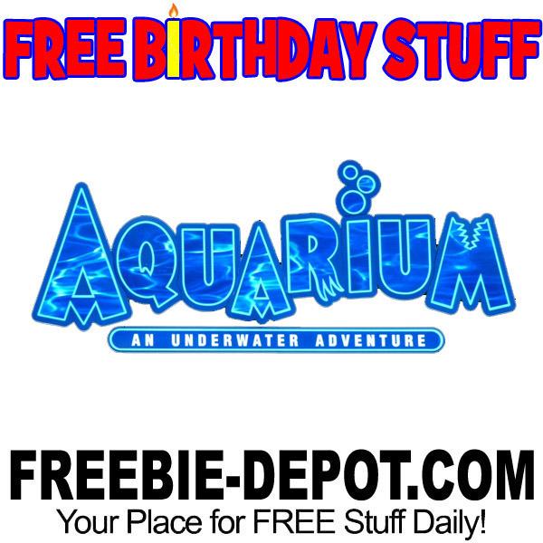 BIRTHDAY FREEBIE – Aquarium Restaurants