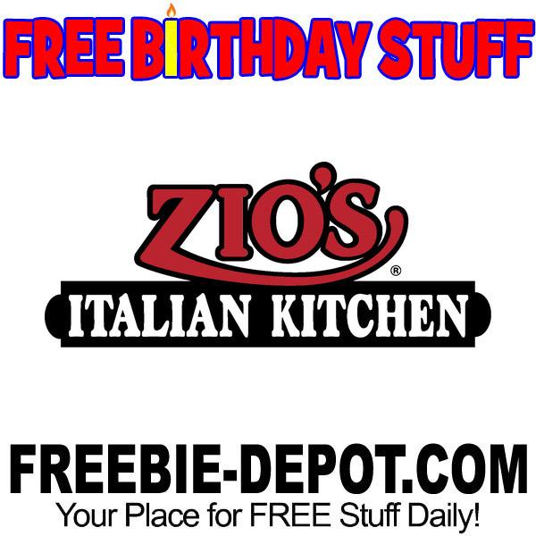 FREE BIRTHDAY STUFF – Zio's Italian Kitchen