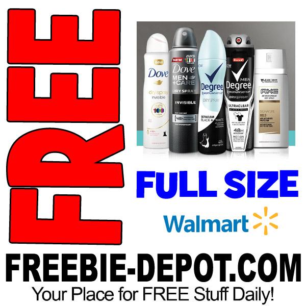 Free-Deodorant-Walmart