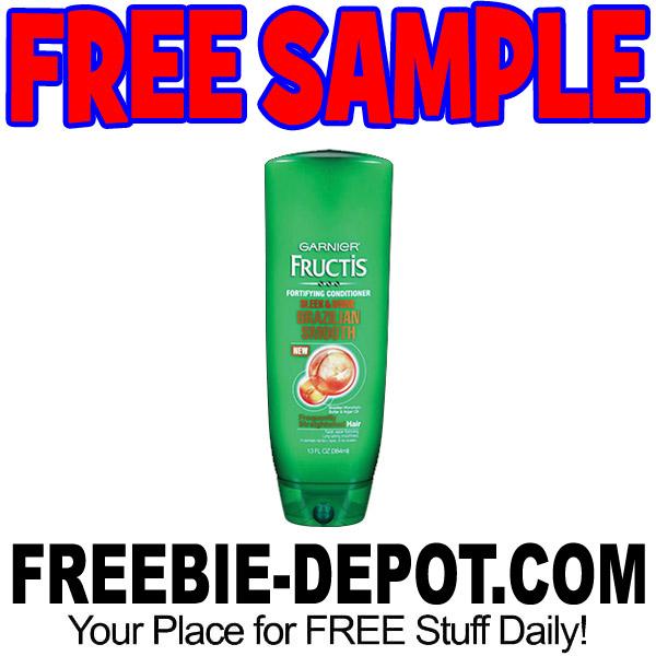 FREE SAMPLE – Garnier Fructis Brazilian Smooth Haircare – FREE ...