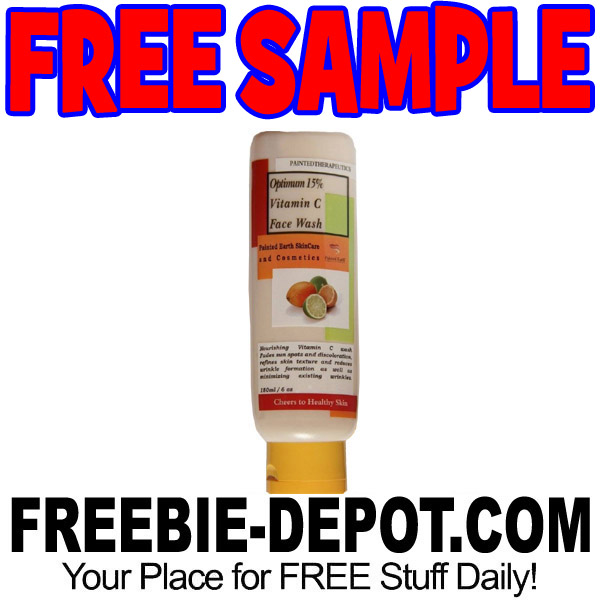 FREE SAMPLE – Face Wash from Painted Therapeutics – FREE Vitamin C Face Wash