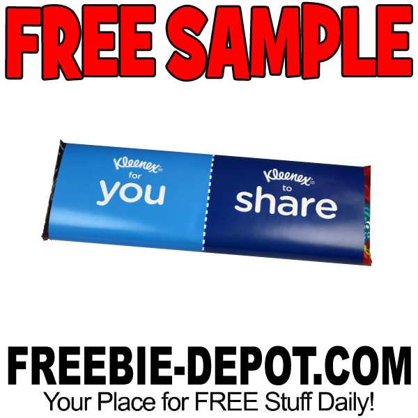 Free-Sample-Kleenex-Share