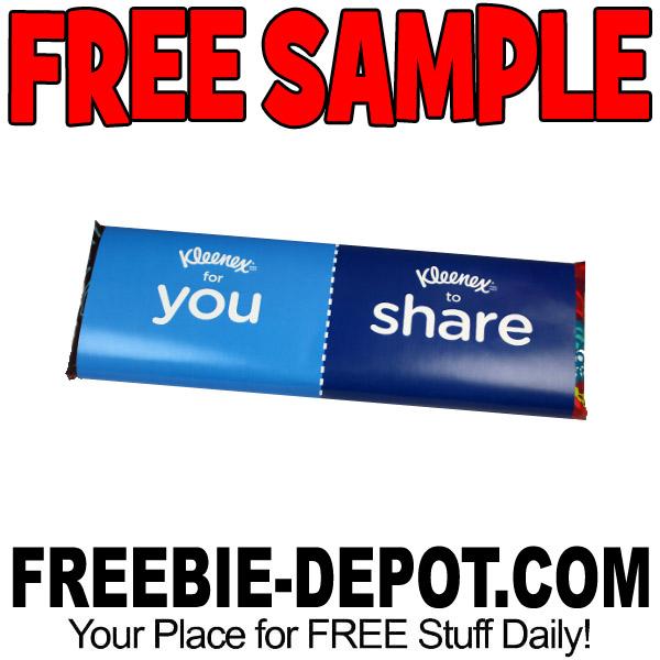 Free-Sample-Kleenex-Share