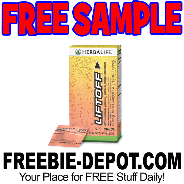 FREE SAMPLE – Herbalife Liftoff Effervescent Energy Supplement