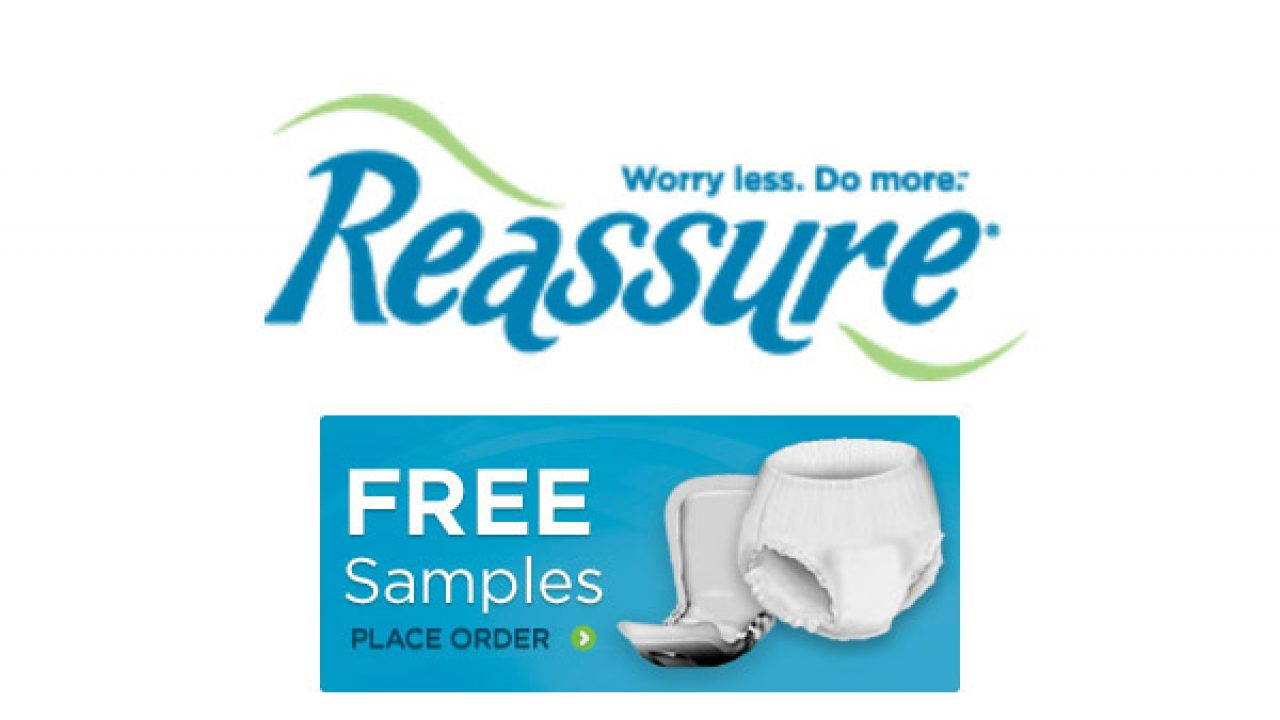 FREE SAMPLE – 2 Reassure Bladder Control Products