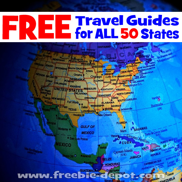 Free Travel Guides Maps Brochures For Every State In The Us - Us-travel-map