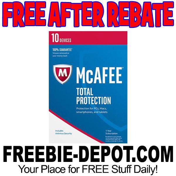 Freebies after rebate