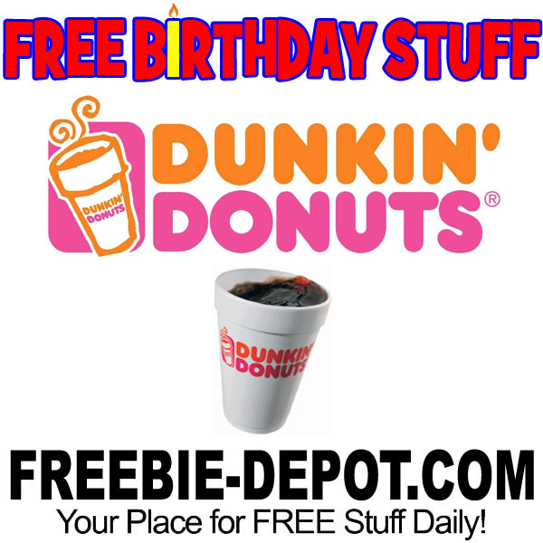 dd birthday coupon