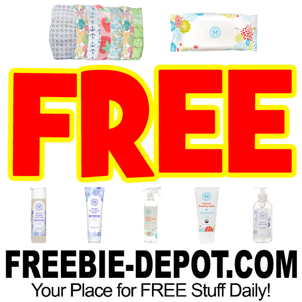 CRAZY! FREE Diapers, Wipes, Personal Care & Home Cleaning Products