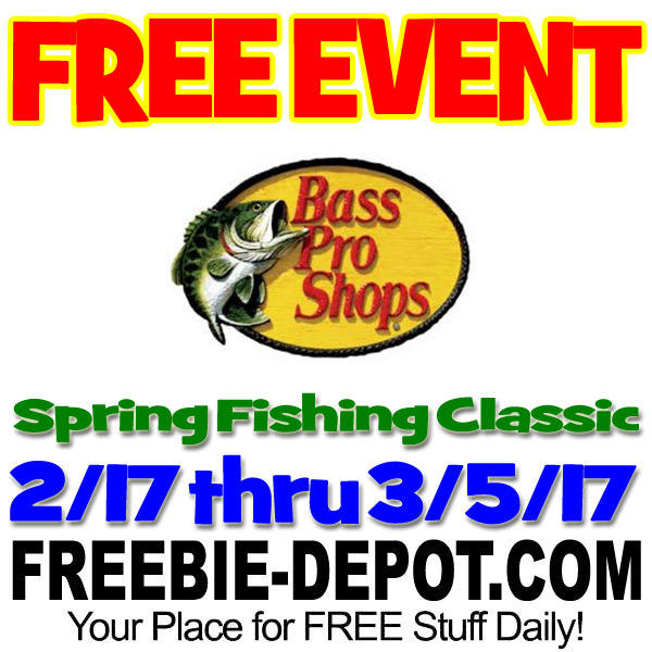 free event 2017 spring fishing classic bass pro shops