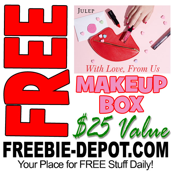 LAST DAY ❤ FREE Valentine Makeup Box from Julep – $25 Value – Exp 2/15/17 ❤
