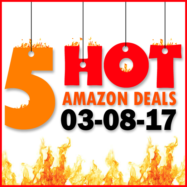 5 Hot Amazon Deals 3 8 17 Freebie Depot