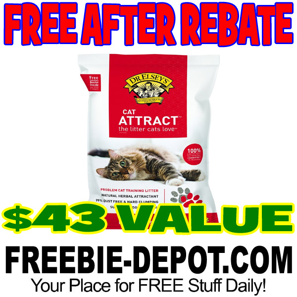 Shipped FREE >>> FREE Full Size Bag of Kitty Litter from Dr. Elsey's – $43 Value!