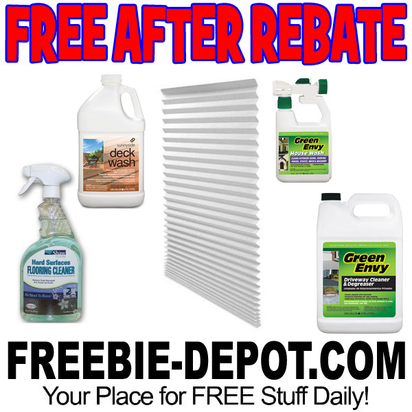 Free-After-Rebate-Cleaners