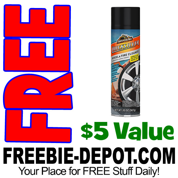 FREE AFTER REBATE – Armor All Quicksilver Wheel & Tire Cleaner @ Advanced Auto Parts – Exp 3/29/17