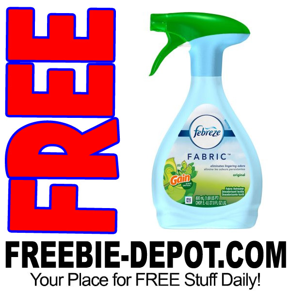 FREE Febreze Fabric Refresher at Walmart – $5 Value – Exp 3/31/17