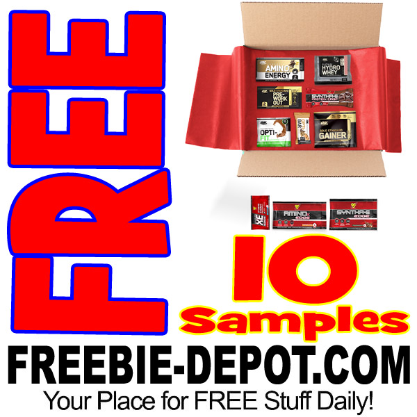 Free-Nutrition-Sample-Box