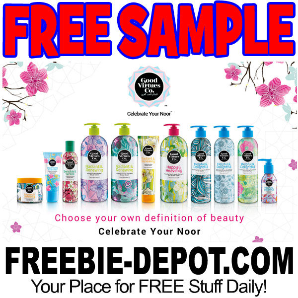FREE SAMPLE – Good Virtues Hair Care or Skincare