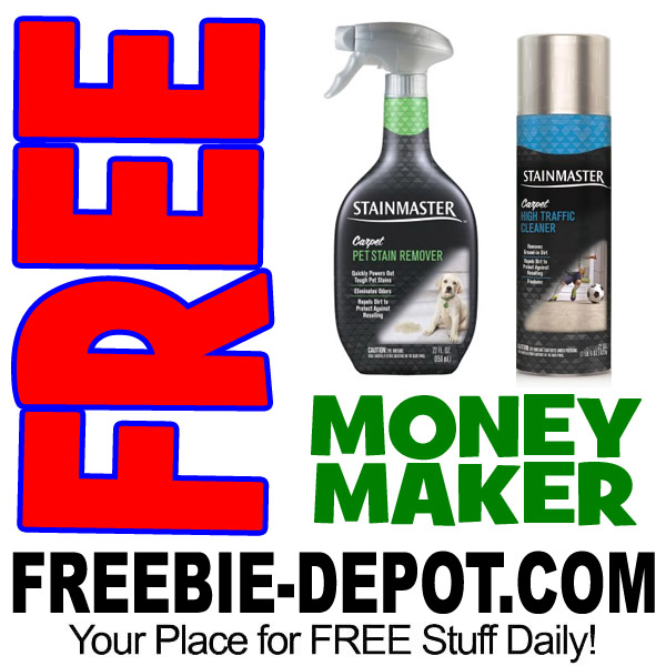 FREE Stainmaster Carpet Cleaner @ Walmart – MONEY MAKER – Exp 3/26/17