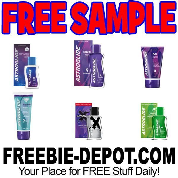 FREE SAMPLE – Astroglide – 6 to Choose From
