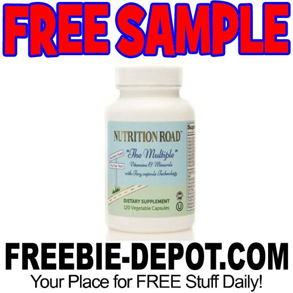 "FREE SAMPLE – Nutrition Road ""The Multiple"" Vitamin"