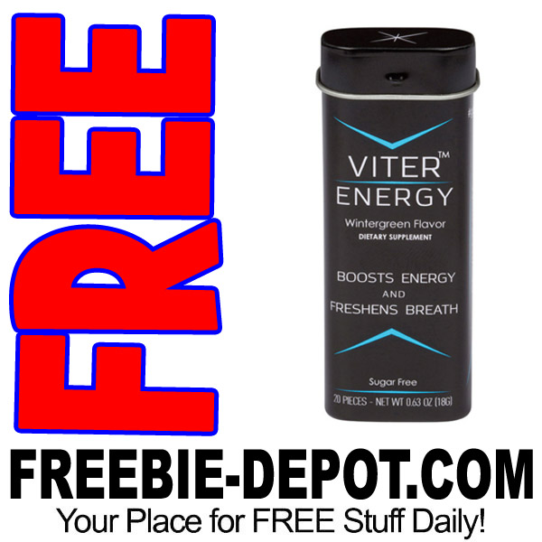 FREE SAMPLE – Viter Energy Caffeine Mints