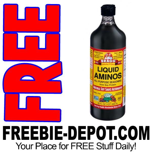 FREE SAMPLE – Bragg Liquid Aminos