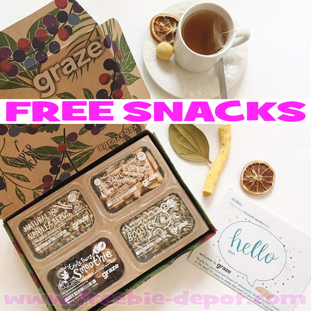 FREE Box of 4 Snacks + More FREE Boxes for Referrals!