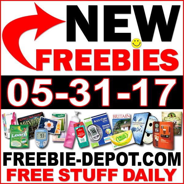 NEW FREEBIE HOTLIST – FREE Stuff for May 31, 2017