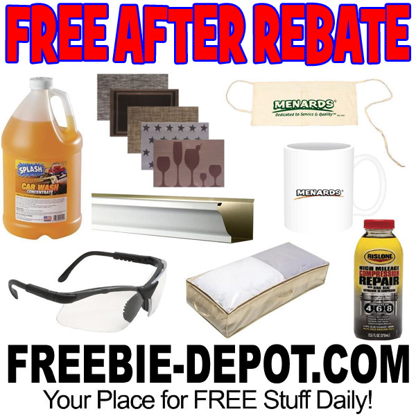 FREE AFTER REBATE – 4th of July Sale at Menards – 8 Items – Exp 7/4