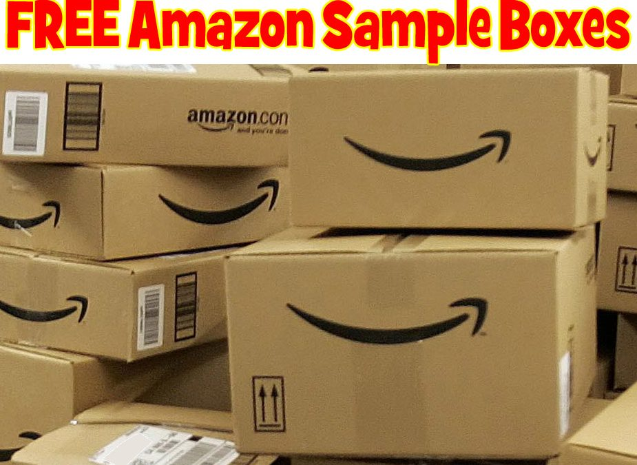 FREE Amazon Sample Boxes!  TONS of Samples!