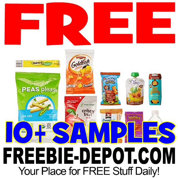 FREE Kids On-the-Go Sample Box – 10+ Samples – LIMITED TIME!