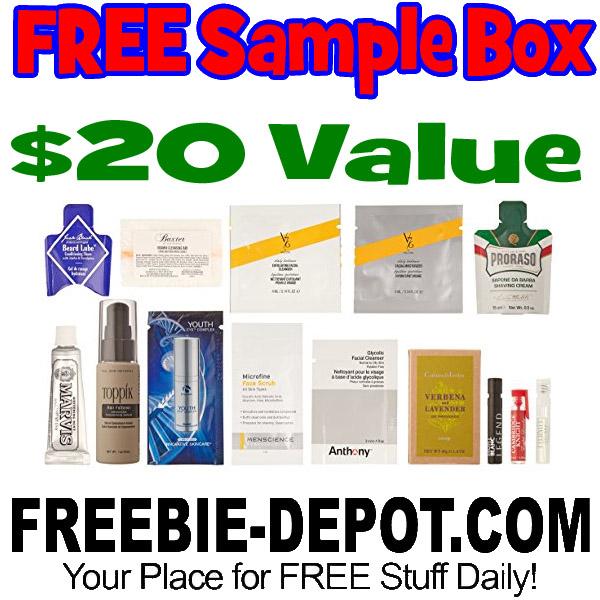 FREE Luxury Men's Grooming Box – 10+ FREE Samples – $19.99 Value