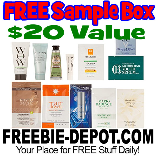 FREE Luxury Women's Beauty Box – 10+ FREE Samples – $19.99 Value – LIMITED QUANTITIES!