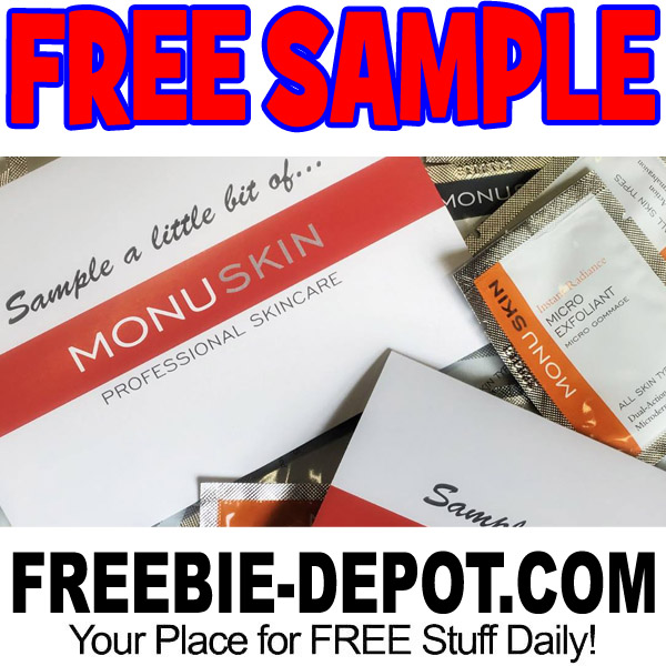 FREE SAMPLE – MONU Natural Skincare