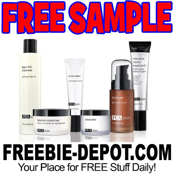 free acne samples